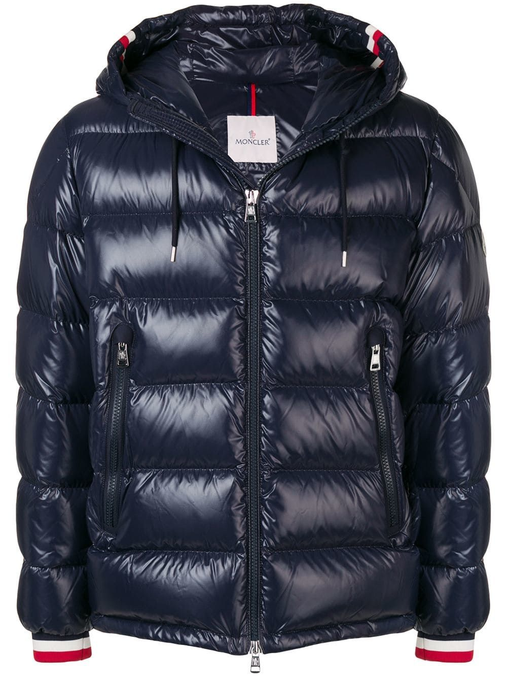 16f7f7989abb MONCLER MONCLER ALBERIC PADDED JACKET - BLUE.  moncler  cloth ...