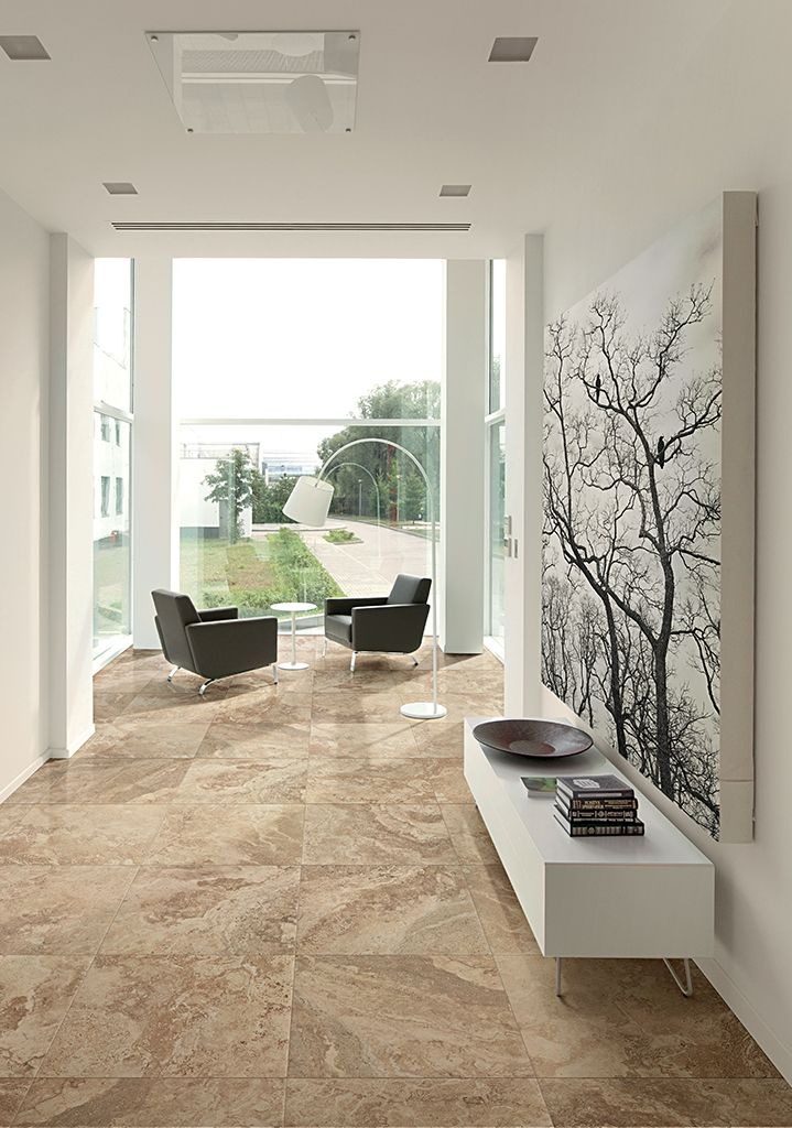 No 966 Stone Effect Large Size Floor Tile Range Living Room Dining Room Combo Interior Concept Home Decor Latest room wall ceramic size
