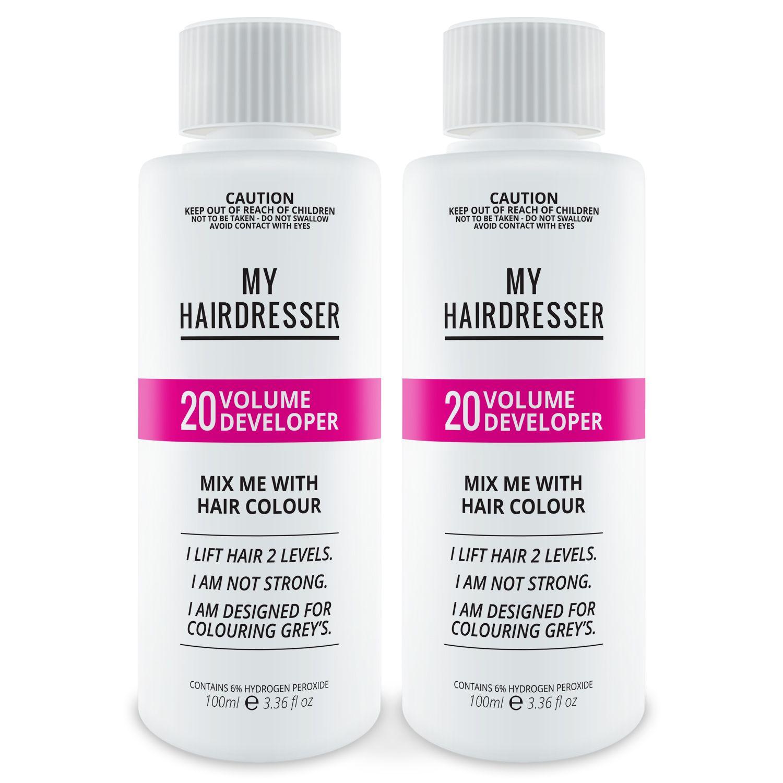 20 Volume Developer How to lighten hair, Lighten hair at
