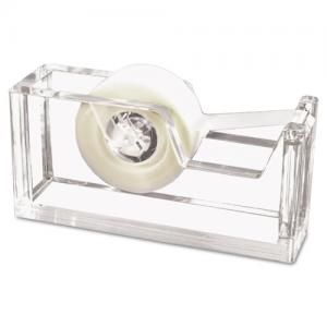 This heavy acrylic tape dispenser is a simplistic modern design that can easily help transform the look of your desk.