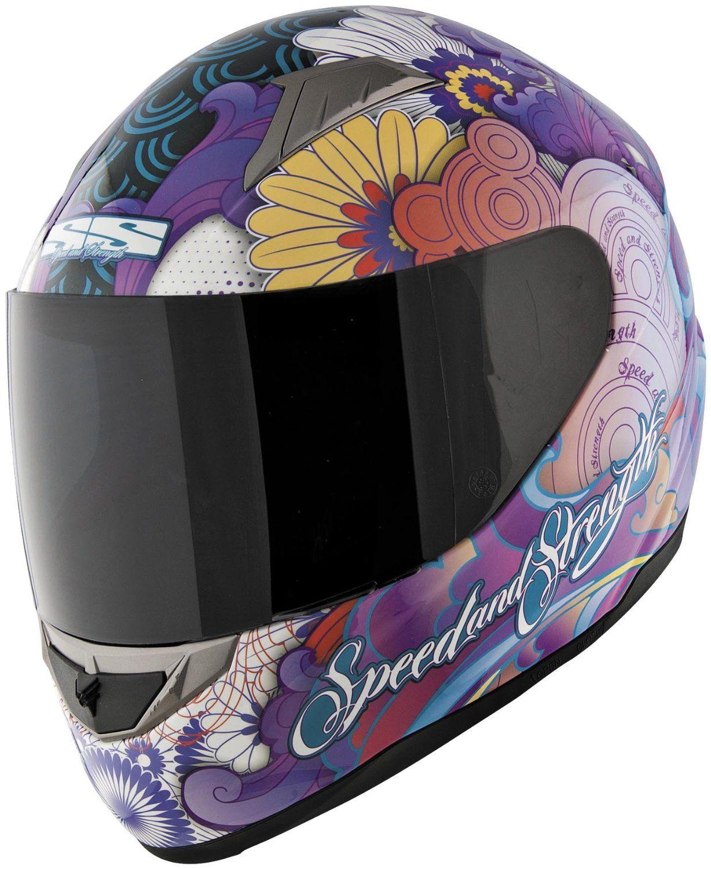 Speed & Strength SS1100 Flower Power Helmet