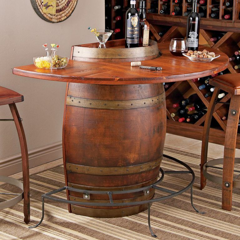 135 Wine Barrel Furniture Ideas You Can Diy Or Buy Wine Barrel
