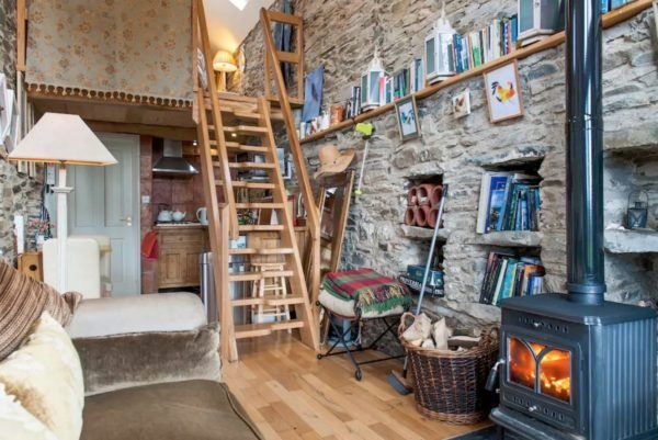 Stone Cottage Interiors crows' hermitage tiny stone cottage in dublin | tiny houses