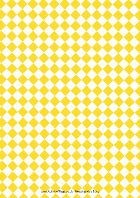 Charming Checks Scrapbook Paper Yellow Elementos Pinterest