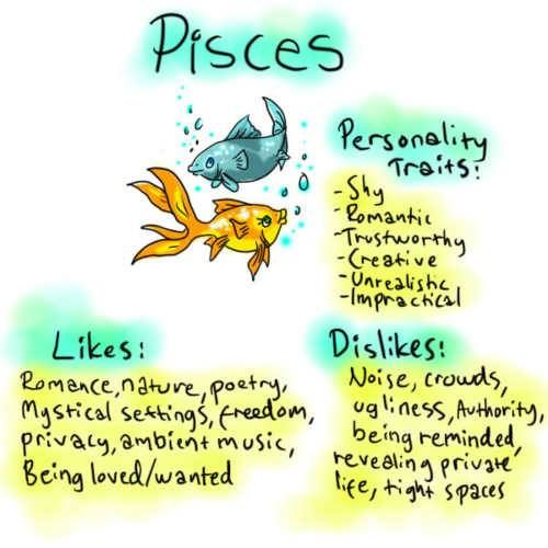 MONICA: What are the characteristics of a pisces female