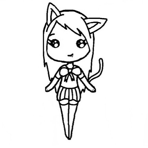 Chibi Template  Chibi    Chibi Template And Drawings
