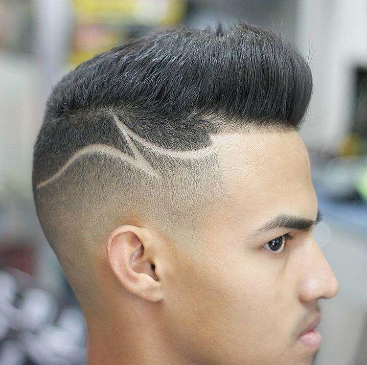 Like The Design Hair Too Short Cabelo Masculino Listras Para Cabelo Risco No Cabelo Masculino