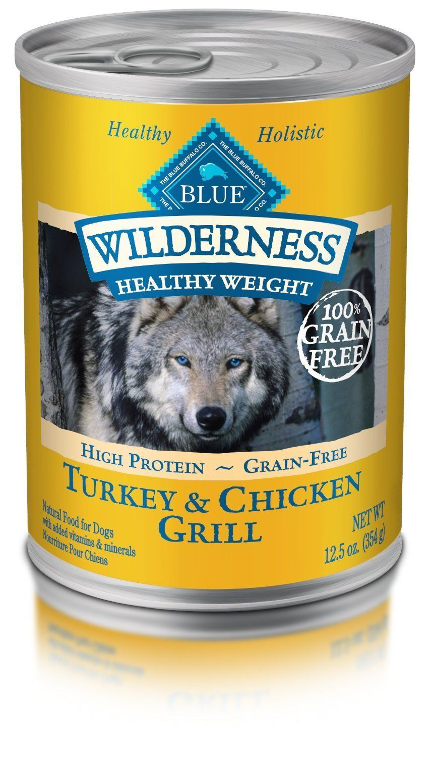 Pack of 12125 oz proteinrich grain free turkey and