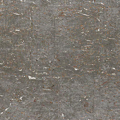 Scalamandre Metal Cork Graphite Wallpaper In 2020