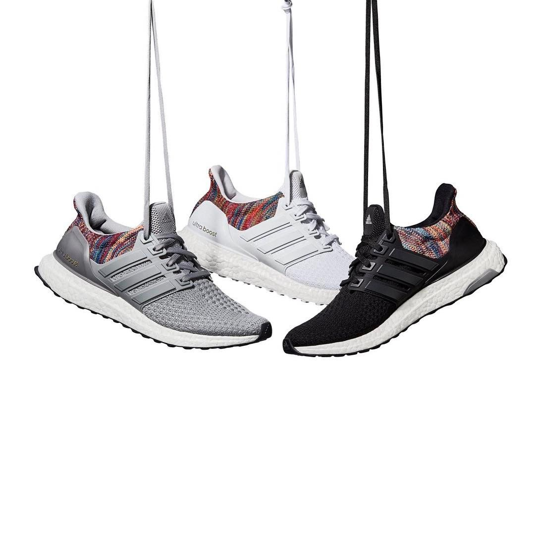 21bbc1d1c795d Mi Adidas Ultra Boost  Rainbow  White in 2019