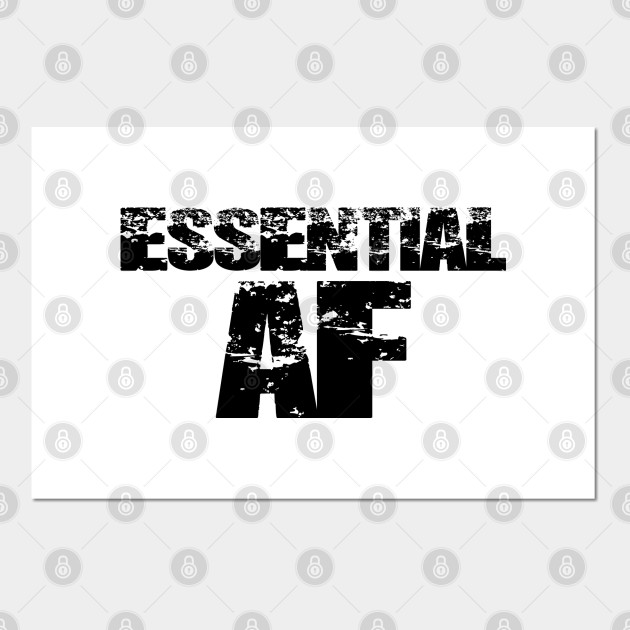 Essential AF Essential Af Home Decor Wall Posters and