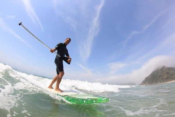 Creator and Awesome Person Jairo Lumertz SUPboard Riding .... Read short article on Types and Styles of Stand Up Paddle Boards. Right Width, Length and Accessories. Eco Friendly STAND UP PADDLE BOARDS (Reusing plastic PET Bottle)