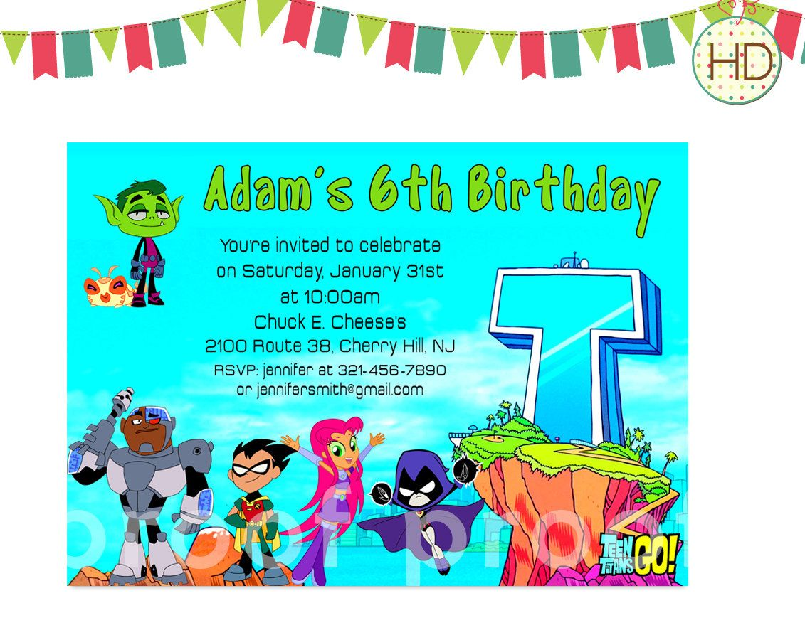 A personal favorite from my Etsy shop | Kids Birthday Invitations ...