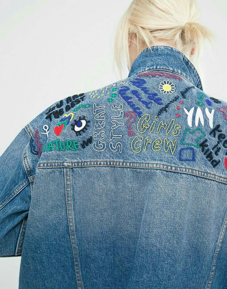 Jeans jacket jeans pinterest embroidery clothes and denim jackets jeans jacket solutioingenieria Gallery