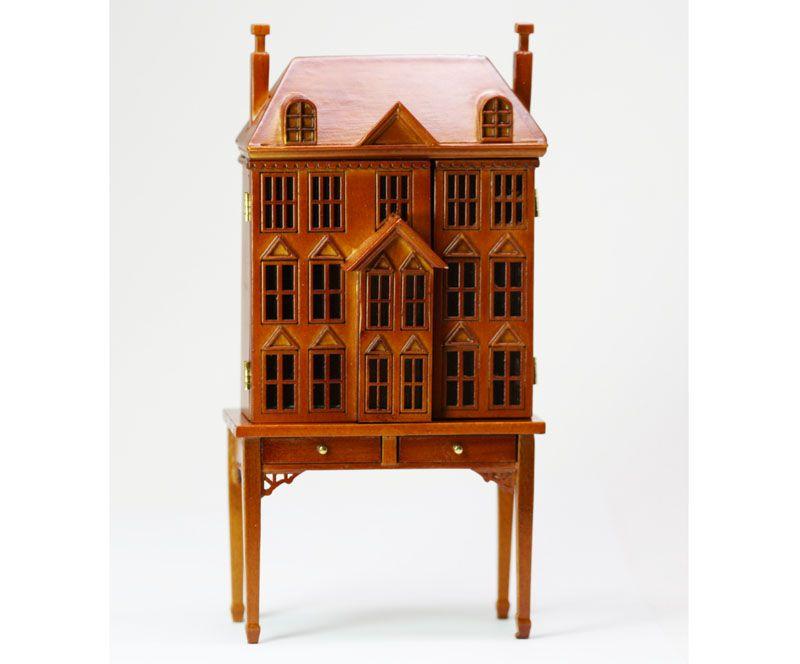 DINNER SET Ceramic Set Dollhouse Miniatures Formal Kitchen 1:12 Scale
