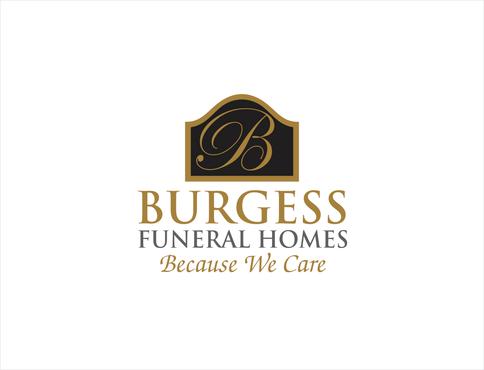 Burgess Funeral Homes Logo Designed By Mycroburst Designer