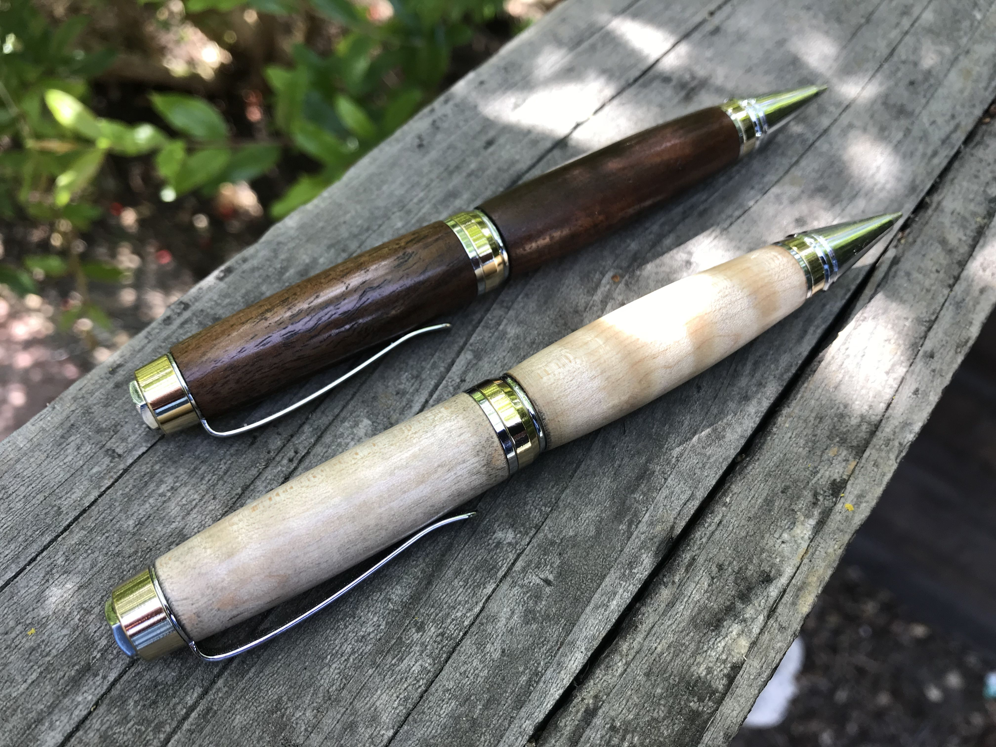 Walnut and maple | Wood projects, Wood turning, Woodworking