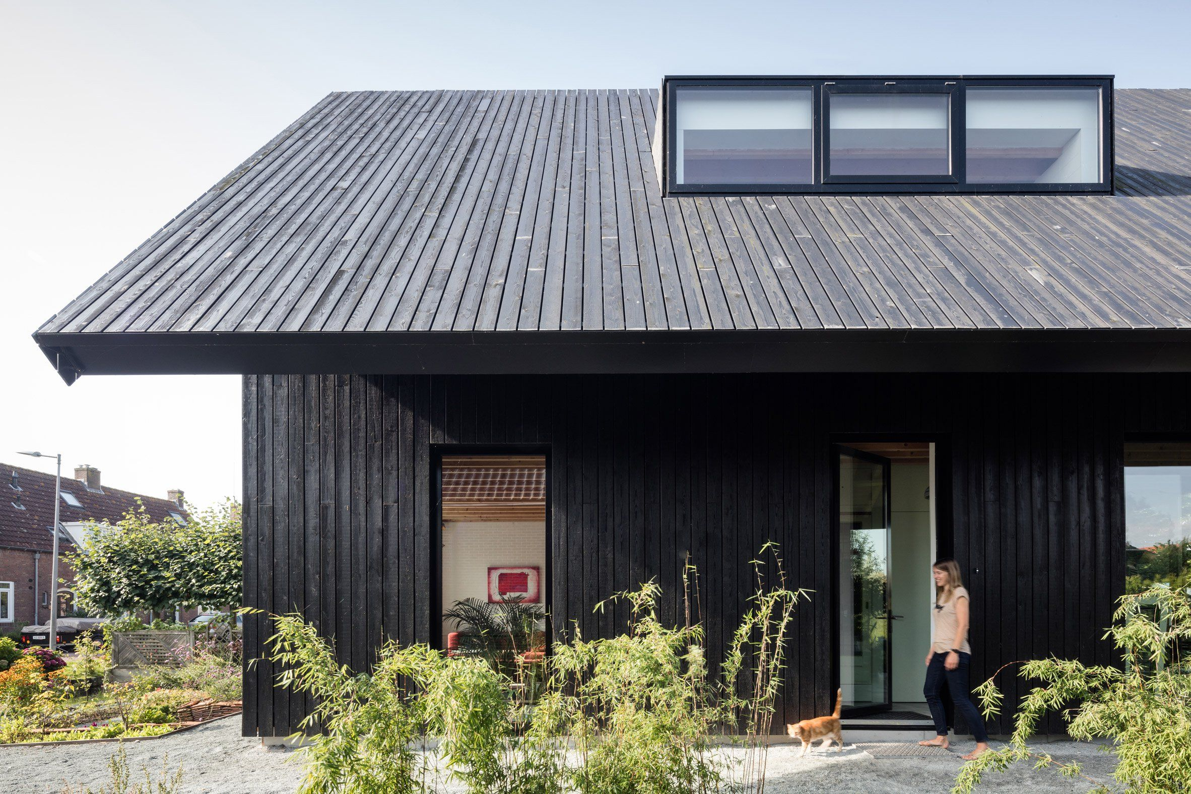 Nice Dutch Architect Chris Collaris Has Completed A House In Amsterdam Clad  Entirely In Blackened Timber And