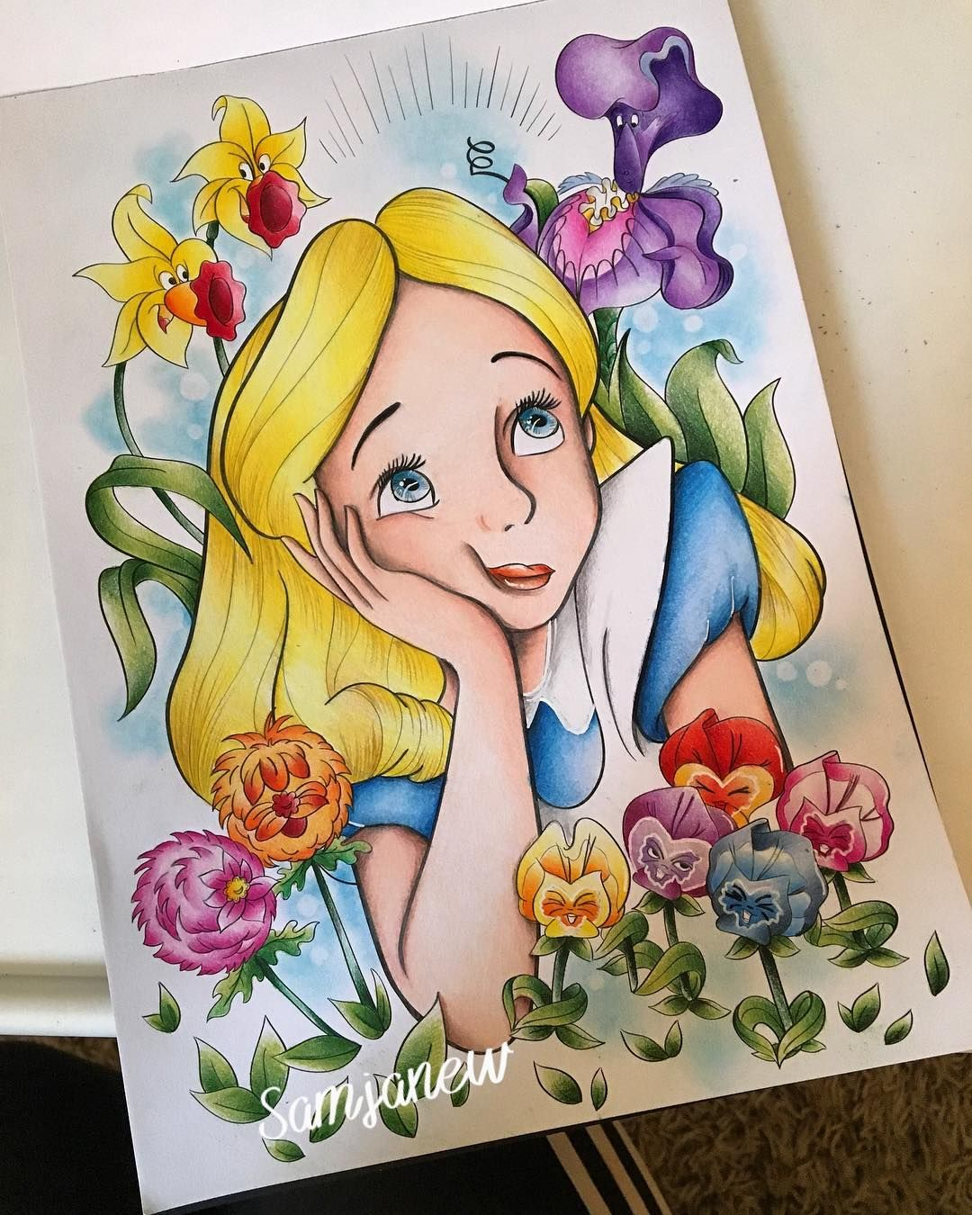 I wanted this nice and bright like the original Alice and exact to