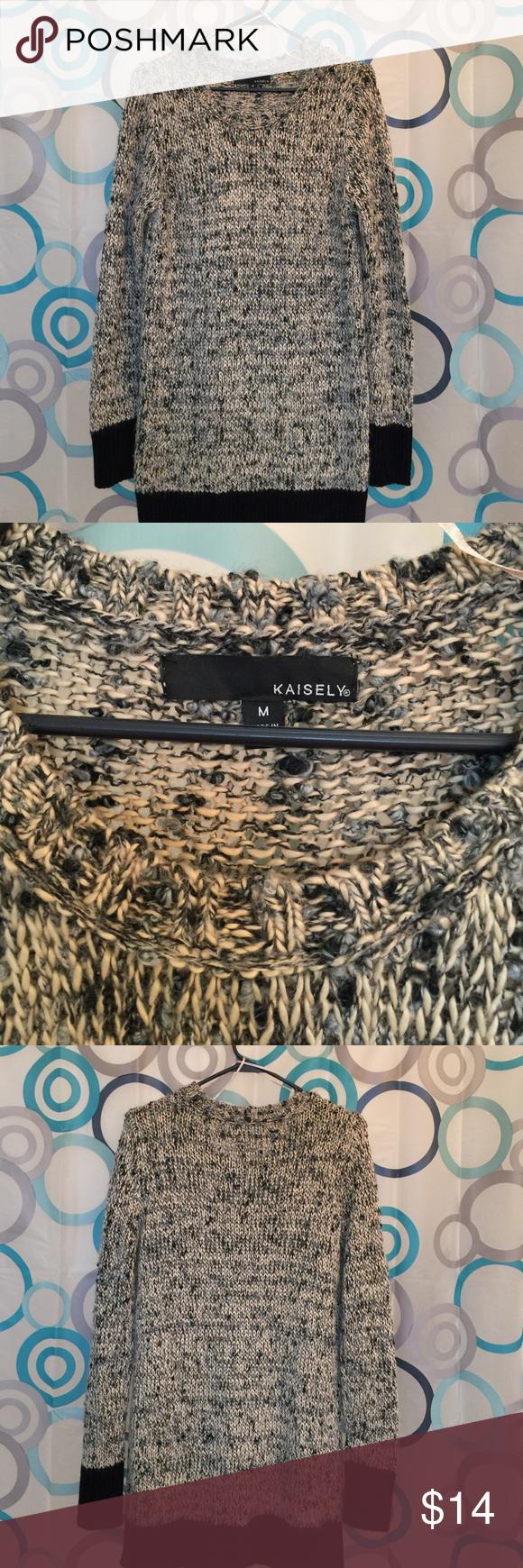 Kaisely sweater top long sleeve nice Medium Kaisely top Medium nice Kaisely Tops