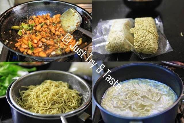 Mie Ayam Yamin Makanan Penutup Mini Resep Masakan Makanan
