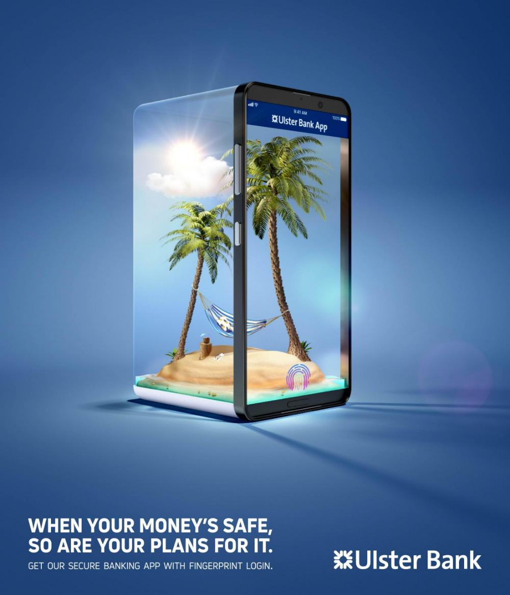 Ulster Bank Print Advert By Boys Girls Protect Your Plans