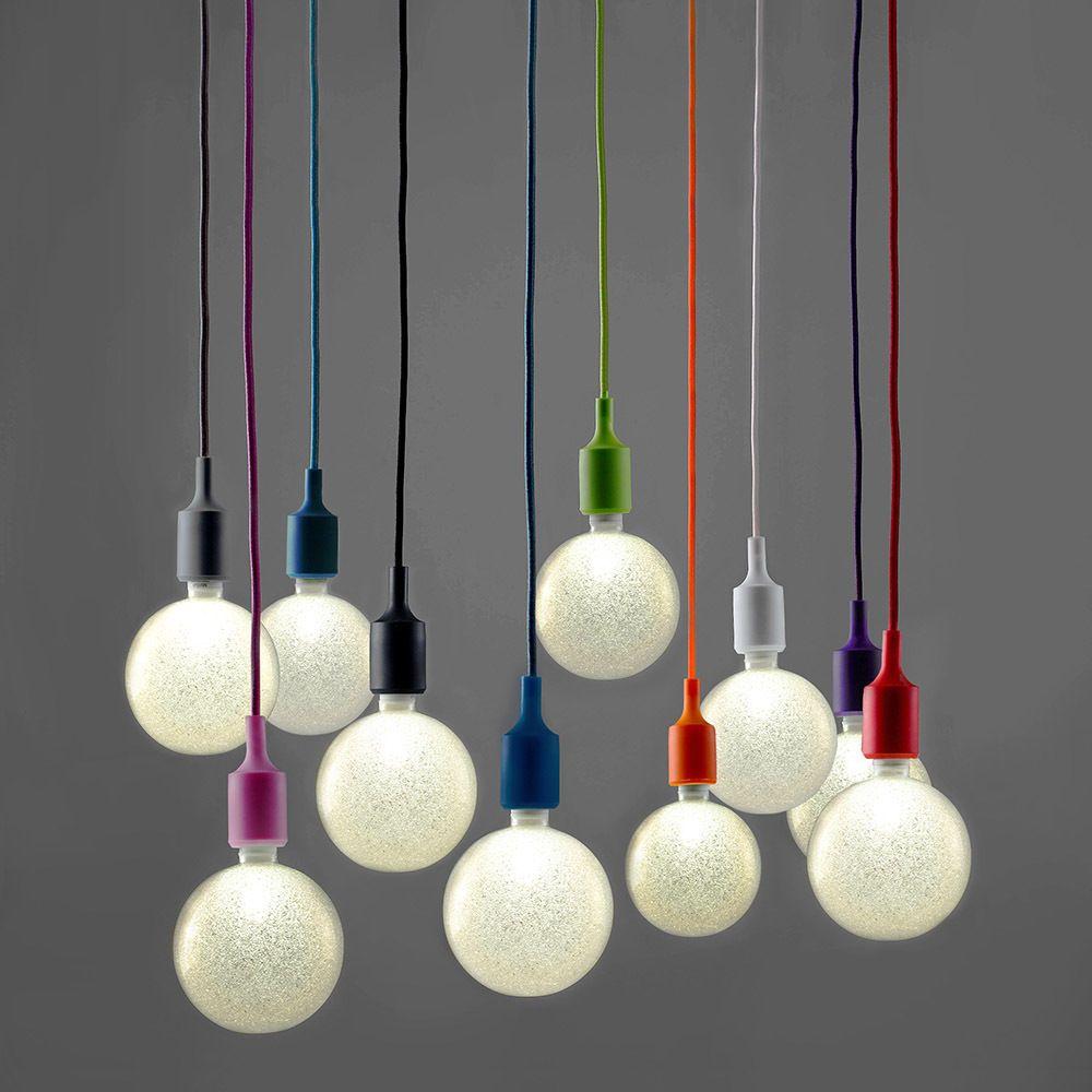 cable pendant lighting. Modern Ceiling Rose Fabric Cable Pendant Lamp Holder Light Fitting - LED Bulb Lighting
