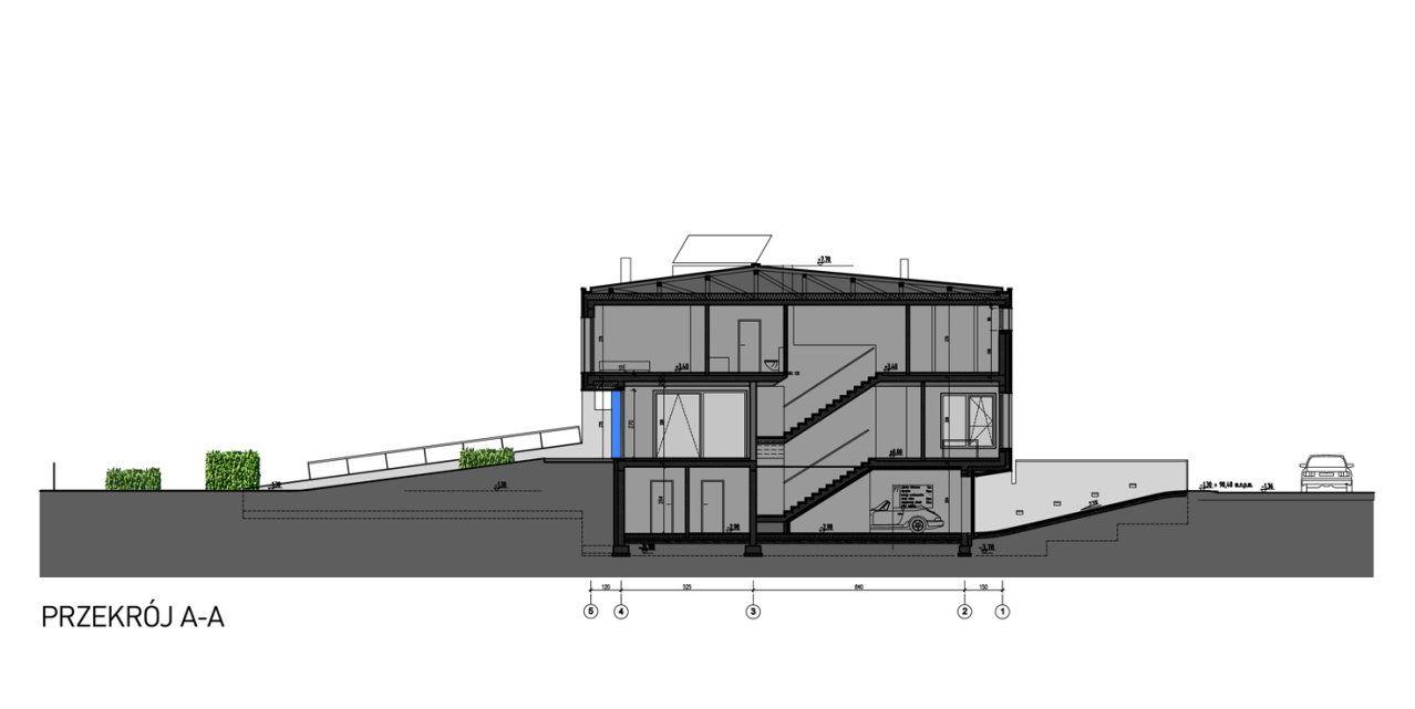 Ultra Architects wysoki parter dom w Poznaniu