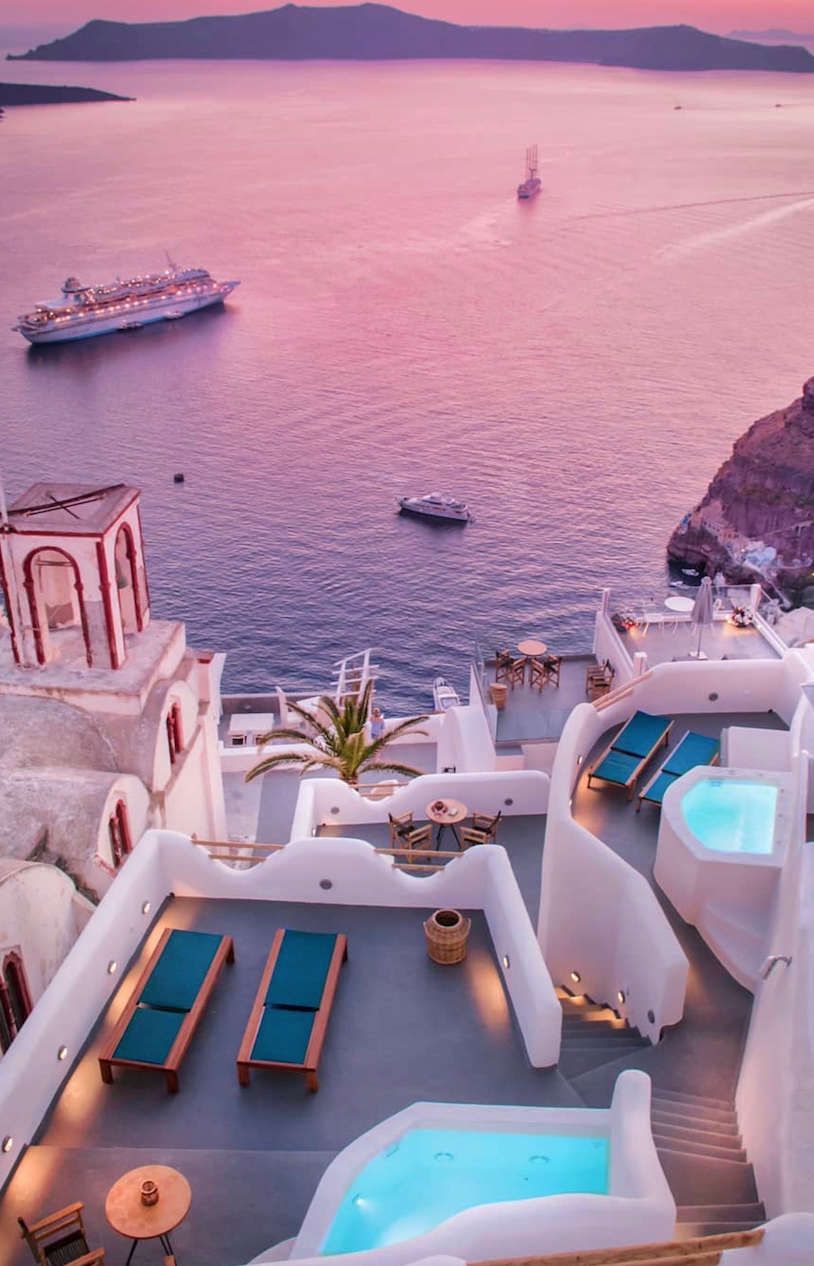 13 travel destinations Adventure santorini greece ideas