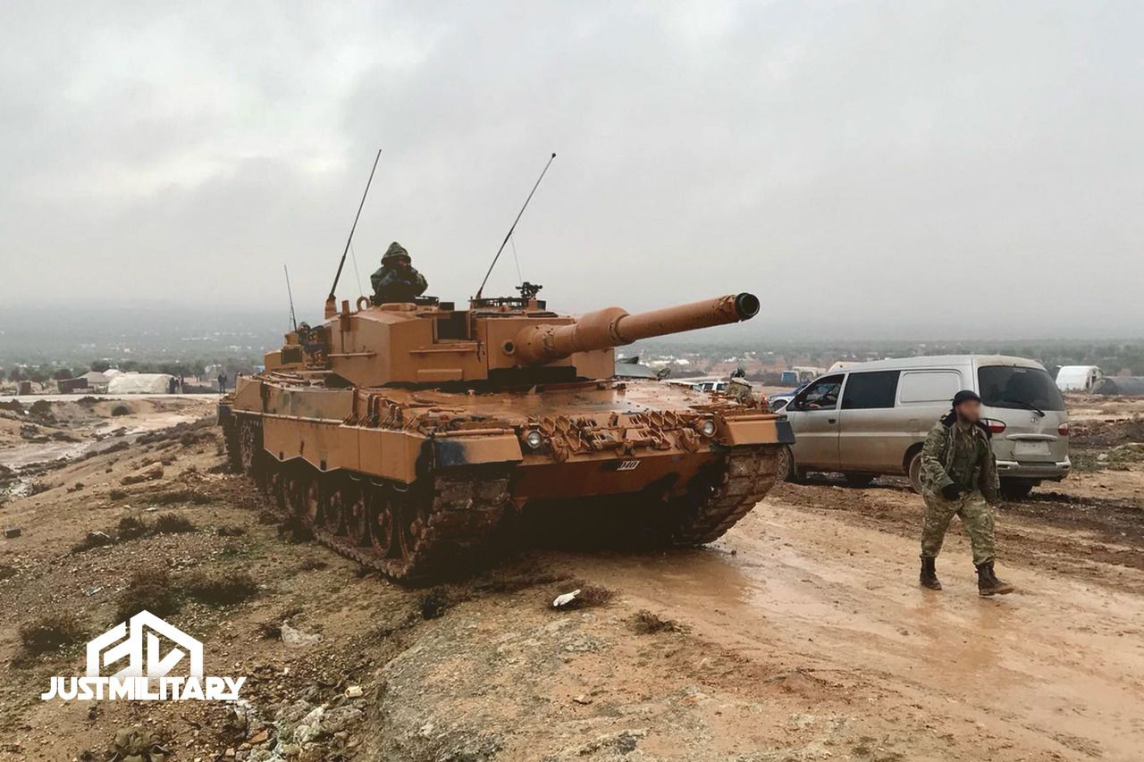 Turkish Mbt Altay In Northern Syria Operation Codenaed Olive Branch