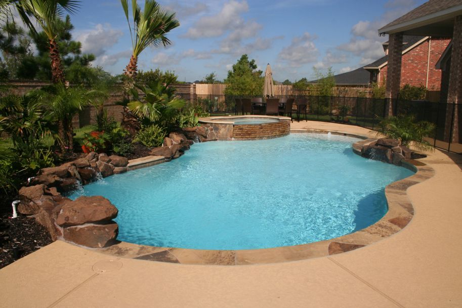 Wet pools inc white plaster may 2010 katy texas for Pool design course