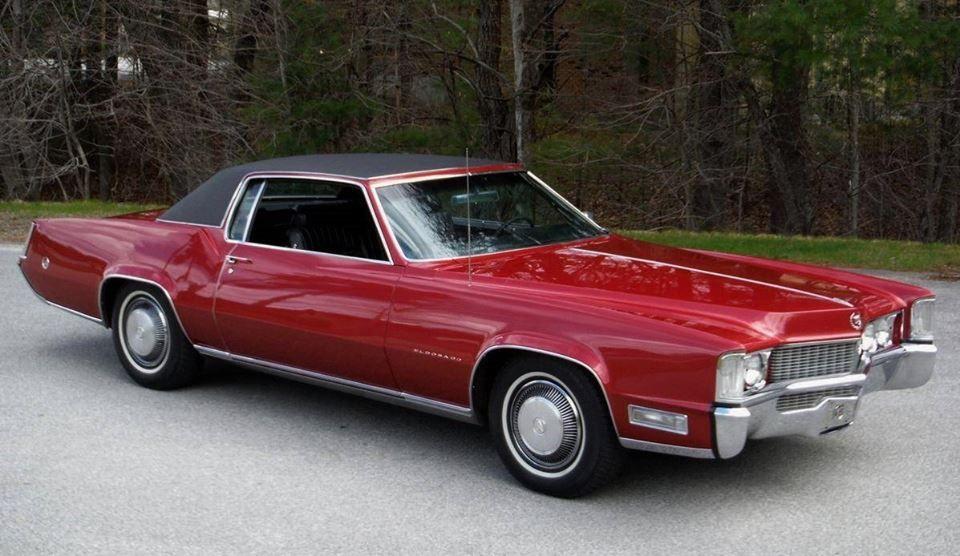 1969 Cadillac Eldorado in San Mateo Red | Cadillac | Cadillac