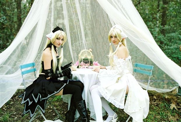 Chi and Freya ~ Chobits Cosplay