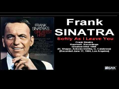 Frank Sinatra - Softly As I Leave You (Reprise 1968)