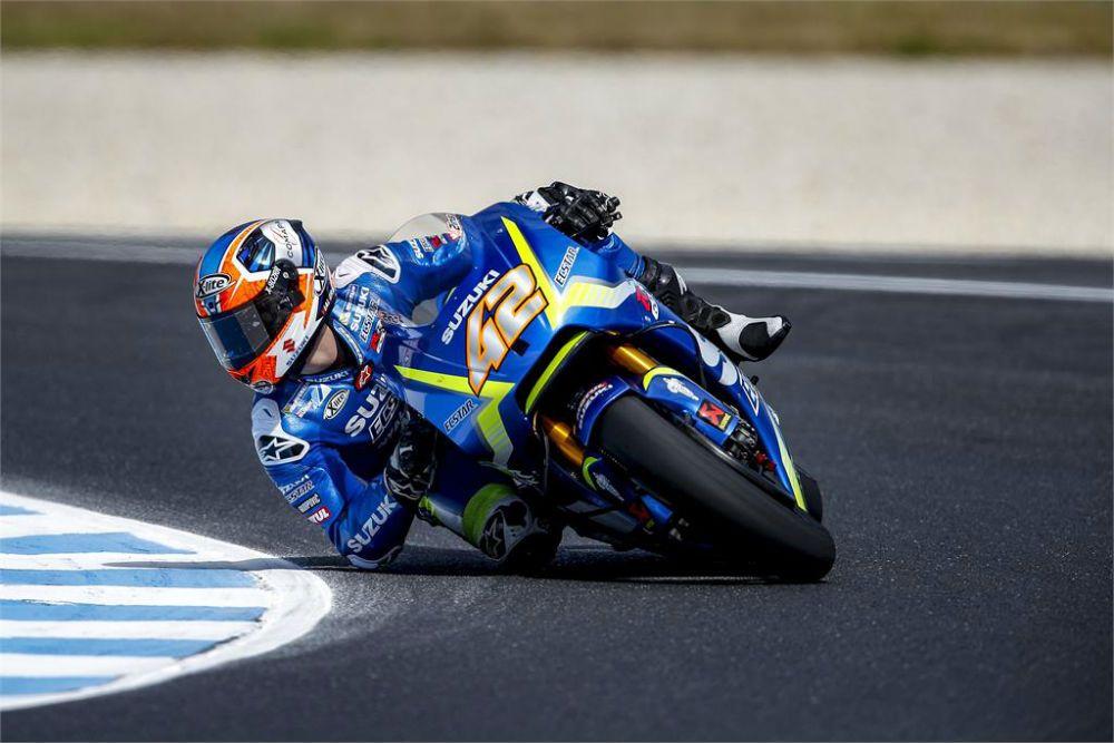 MotoGP: Álex Rins continua a trabalhar na adaptação à Suzuki