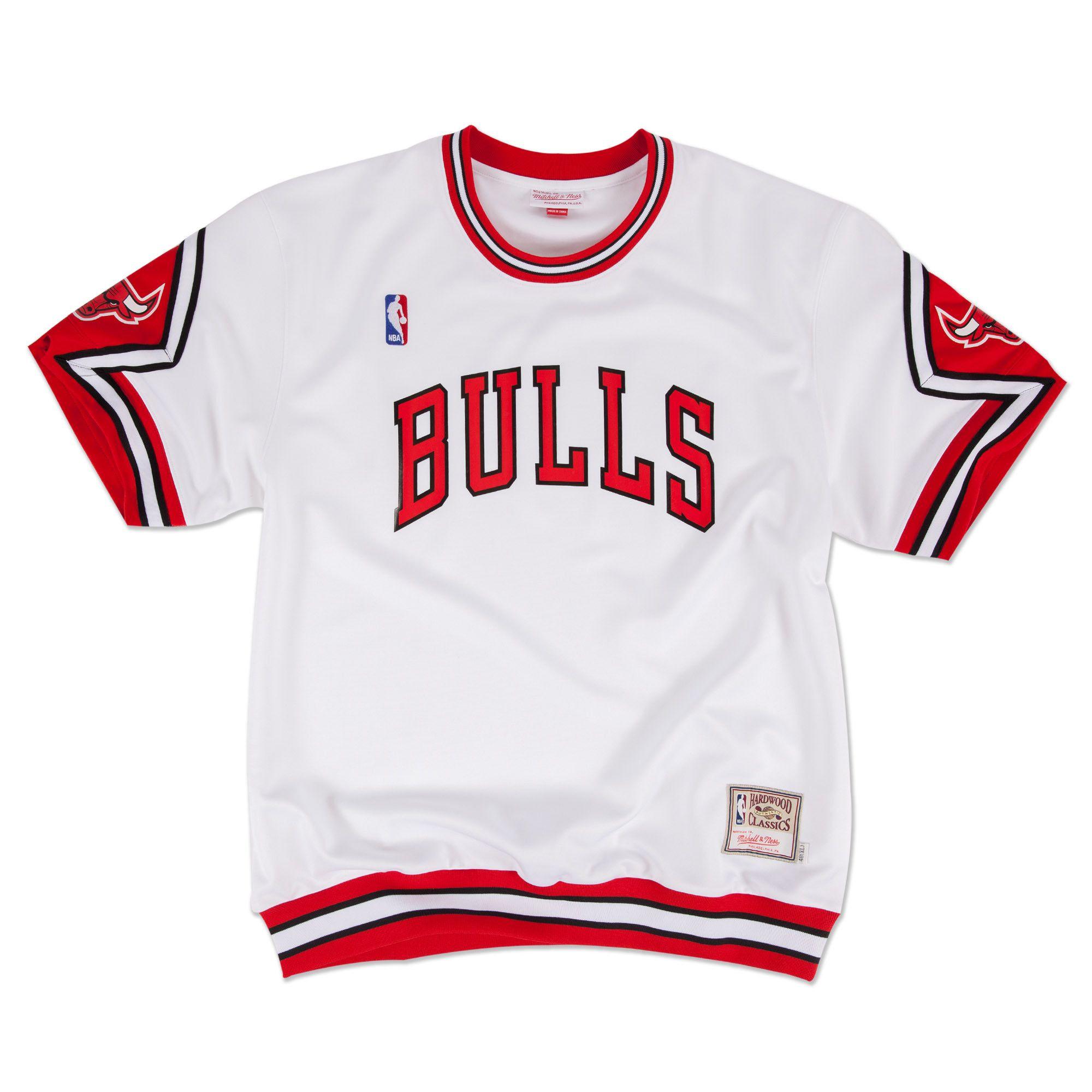 5dab58fed 1987-88 Authentic Shooting Shirt Chicago Bulls Mitchell   Ness Nostalgia Co.