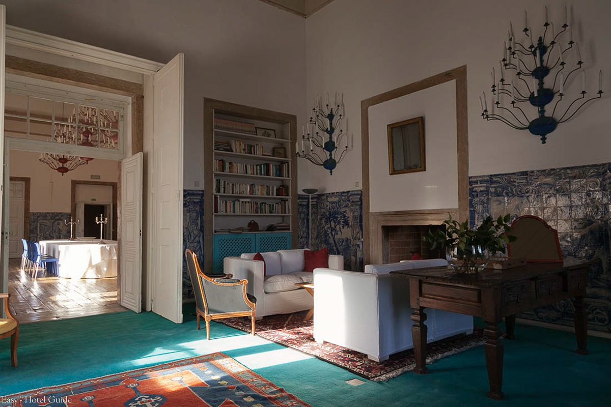 Palacio Belmonte Lisbon Portugal Easy Hotel Guide Suite Interior