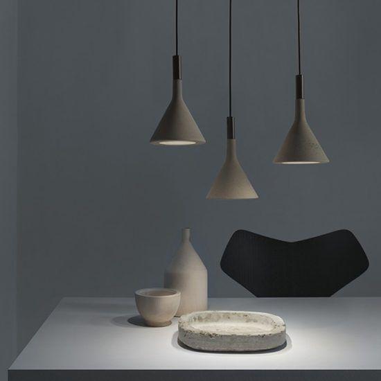 éclairage béton Cuisine Pinterest Concrete, Lights and Modern - interior trend modern gestein