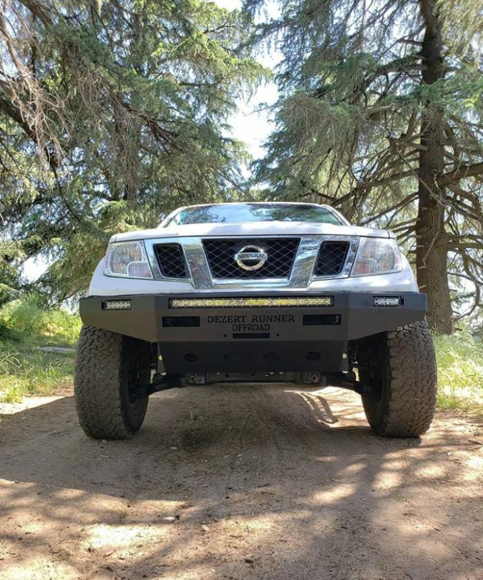 Nissan Frontier Bumper >> Nissan Frontier Winch Steel Plate Bumper Now Taking Orders