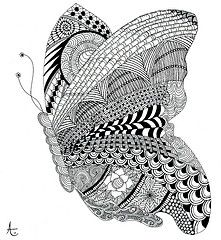 Zentangle World | The World's Best Photos of penandink and zentangle - Flickr Hive Mind