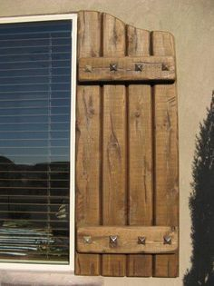 House Shutters Made Out Of Pallets Google Search Wood