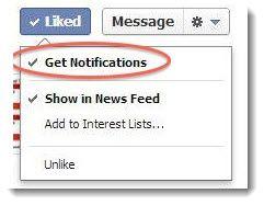 #Facebook prueba nueva configuración de notificaciones para las páginas