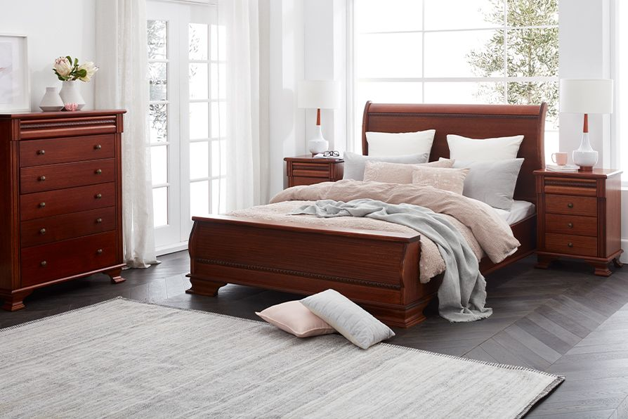 Crafted Living Monet Bedroom Suite The Monet Bedroom Suite Is A Classic Yet Distinctive Design Proudaustralian Made Piece Of Art Is Made Of V Bedroom Sets