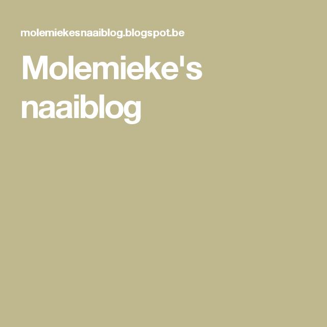 Molemieke's naaiblog
