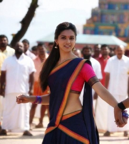 Deepika Shahrukh Performance Anazhthsh Google Deepika Padukone Half Saree Saree