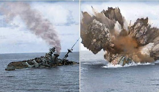Hms Barham Was A Queen Elizabeth Class Battleship Built For The