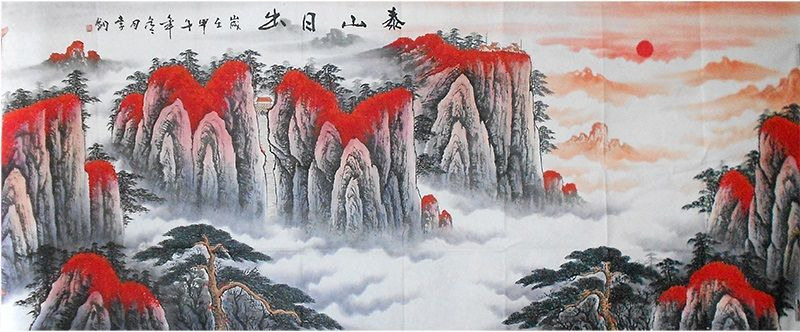 Classic Best Painting Artists Art Hand Large Landscape Painting
