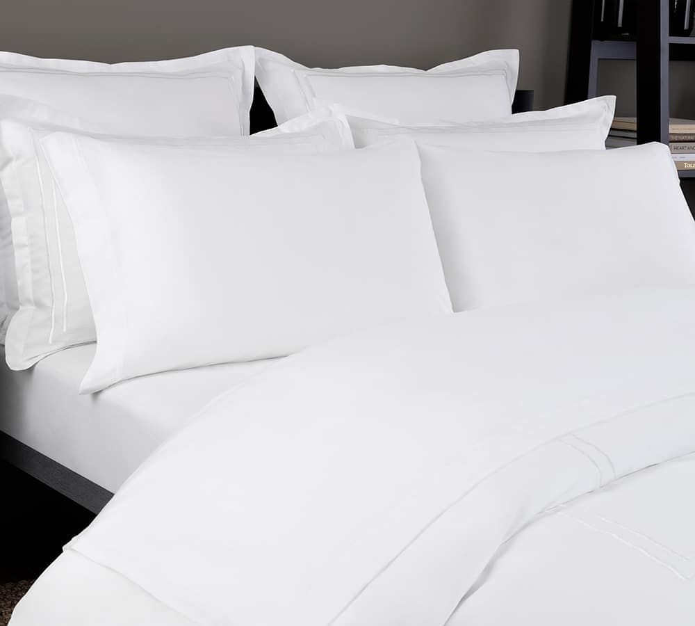 Sscj011 Sheet Set Close Up White