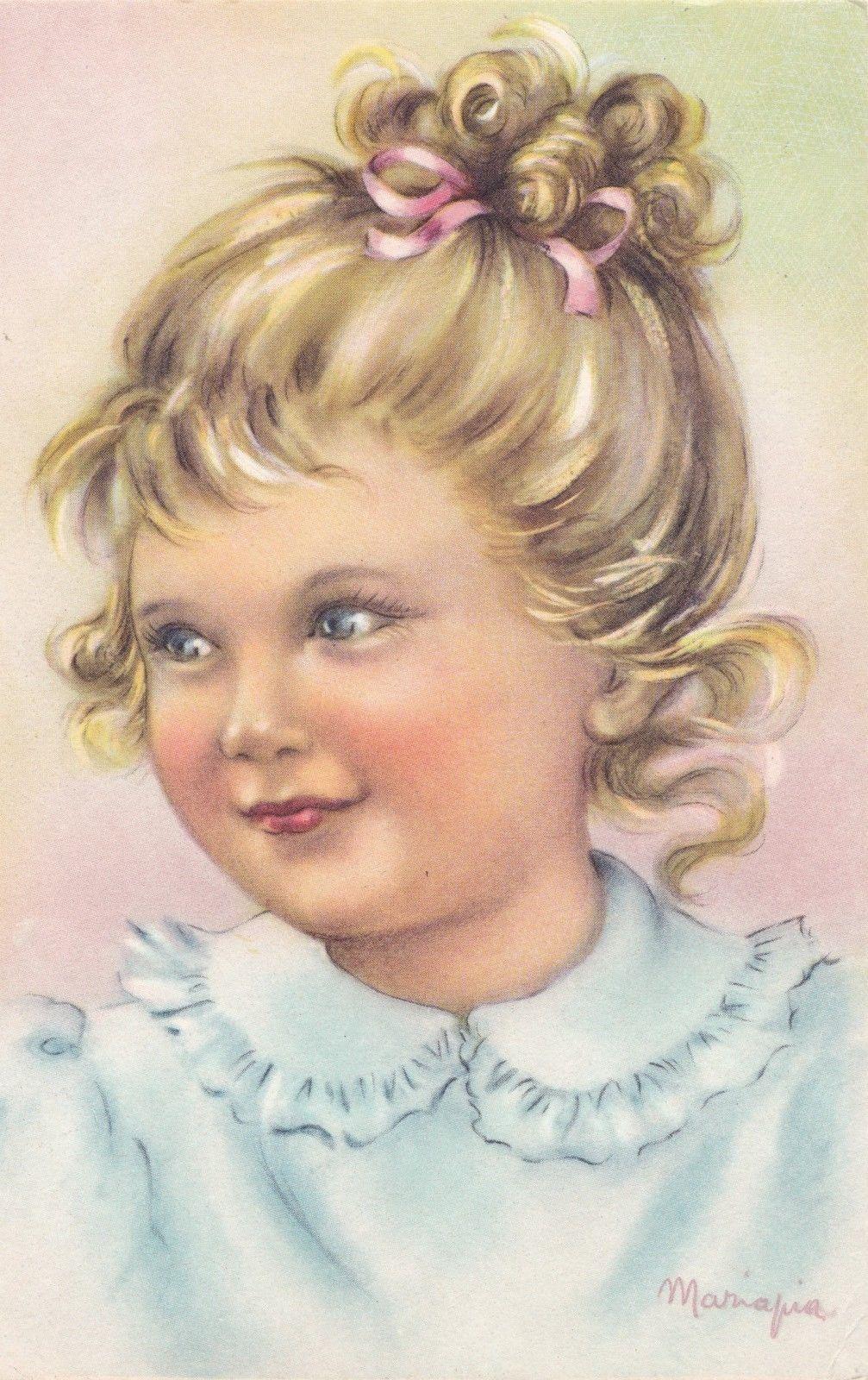 13995 Cartolina Bambina Mariapia | eBay