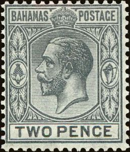 Stamp King Georg V Bahamas George MiBS